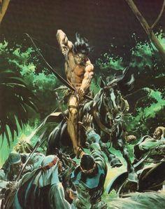 Conan Barbarian Illustration