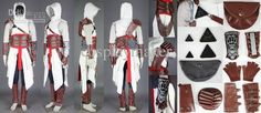 Cool! Assassins Creed II 2 Altair Conner Kenway Anime Costumes | Buy Wholesale On Line Direct from China
