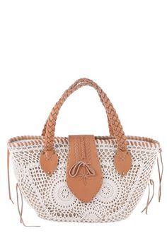 Buco Handbags  Crochet Bag