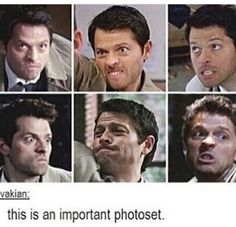 Weird faces Misha makes before he messes everything up