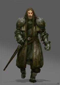 Human male bandit brute chaotic sword lowlife raider