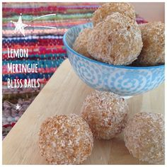 These yummy clean treats taste just like lemon meringue!  1 cup of almond meal, 1.5 cups coconut, juice and rind of 1 lemon, coconut oil and a dash of agave to sweeten. Processed then rolled into balls and dusted with coconut and #lovingearth's coconut sugar,