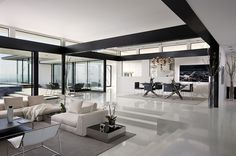 modern sunken living room ideas | The Sunken Living Room – Cozy Space for Cocktails and Conversation ...
