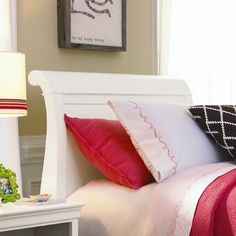 Viv + Rae Dayton Sleigh Bed Headboard Size: Full, Finish: Summer White