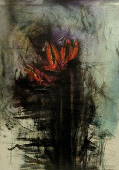 Jim DINE (b. 1935) - Bird of Paradise, 1999, intaglio, silkscreen and hand coloring.