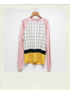 // JW Anderson Check Knit Sweater