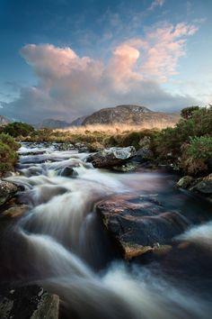 Poisoned Glen, Ireland /// doesn't look poisoned...