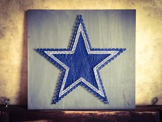 A personal favorite from my Etsy shop https://www.etsy.com/listing/248039195/dallas-cowboys-string-art