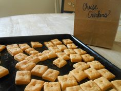 Cheez-Its From Scratch