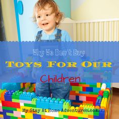 Why We Don't Buy Toys For Our Children - Before you judge read and learn why buying toys for our children won't be happening any time soon. #Parenting #Christmas #Family