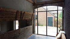 Stalen buitenpui Perfect View.  www.pv-windows.nl / www.mhb.nl