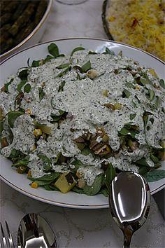 Semizotlu_salata Turkish Recipes, Ethnic Recipes, Iftar, Food Facts, Palak Paneer, Salads, Pasta, Cooking, Personality