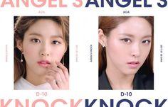 "Begun the countdown !! AOA next return 1st Album ""Angel's Knock"" !!"