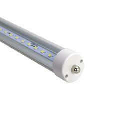 207.89$ (More info here: http://www.daitingtoday.com/fa8-single-pin-t8-4ft-led-tube-1200mm-6ft-8ft-led-lamp-led-tube-lights-warm-cold-white-fluorescent-led-bulb-indoor-lighing ) FA8 Single Pin T8 4ft Led Tube 1200mm 6ft 8ft Led Lamp Led Tube Lights Warm Cold White Fluorescent LED Bulb Indoor Lighing for just 207.89$