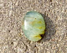 Genuine Peruvian Opal, Nice Cabochon Oval Green and Blue Peruvian Andean Opal for making jewelry or collecting, Peru Charmstone - pinned by pin4etsy.com