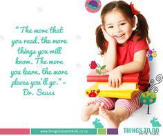 Inspirational Parenting Quote | reading with kids