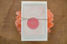 Mikaela & Shane - Wedding Stationary by Kelsey Breanne Creative