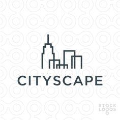City skyline logo