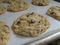 The Bake-Off Flunkie: Kaitlyns Outrageous Oatmeal-Chocolate Chip Cookies (I browned half of the butter)