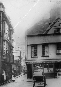 View of Ye Olde London Coffee House, c1900                                                                                                                                                     More