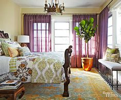 Wander through this selection of rooms designed with far-flung locales in mind and consider what you might want to bring back to add to your own home.