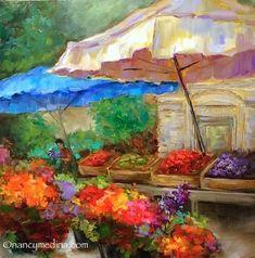 Nancy Medina Art: Shopping Open
