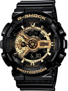 Casio G Shock Limited Edition Black Dial Men's Watch - GA110GB-1A    http://stopevolving.com/GA110GB-1A