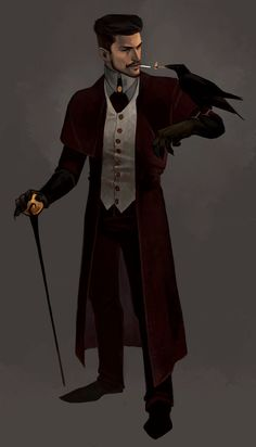 Fancy Dude Design by the-vinsomer on DeviantArt