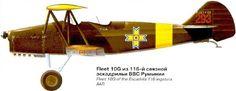 Fleet F-10 G, Romania - pin by Paolo Marzioli