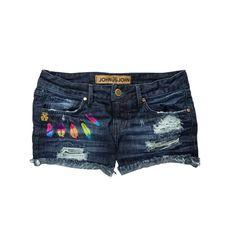 Shorts jeans 3D. Jhon Jhon. Verão 2015
