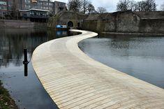 The Ravelijn Bridge by RO&AD Architecten 06 « Landscape Architecture Works | Landezine