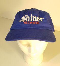 Shiner Blonde Baseball Cap Hat Beer Breweriana Blue Embroidery Snap Closure  OSFM  Unbranded  BaseballCap 87d96c06db7a
