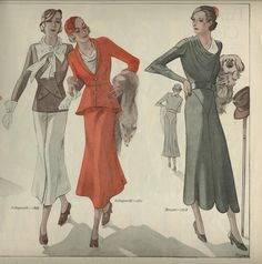 1930s travelling clothes women france - Google Search