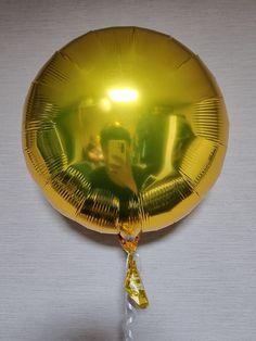 Mylar Balloons, Metallic Gold, Christmas Bulbs, Holiday Decor, Christmas Light Bulbs