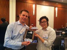 Echo App Wins Judges' Choice Award at NJTC Venture Conference