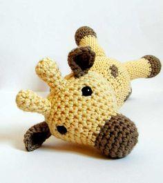 Cuddly Giraffe Amigurumi Pattern