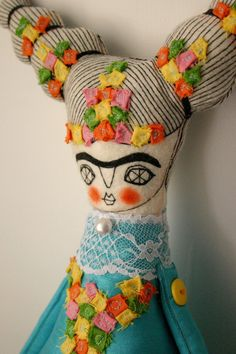 cara carmina's incredible frida dolls