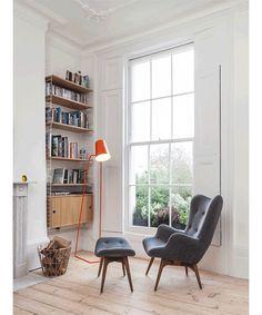 也许你买不起一个大书房,但你还可以搭个惬意的读书角
