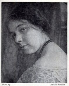 Pamela Coleman Smith, who illustrated what we know as the Ryder-Waite tarot, but received no acknowledgement or payment.