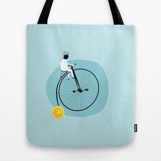 My bike Tote Bag by yael frankel - $22.00