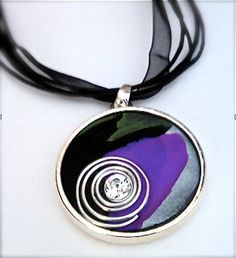 Polymer Clay Jewelry  Modern & Chic Mixed Media by MissionJewels, $22.00