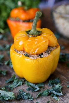 16. Quinoa Stuffed Peppers | Community Post: 16 Vegan Recipes That Are Better Than Bacon