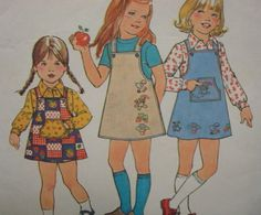 1970s Girl's Jumper and Shirt with Transfer Kangaroo by kinseysue