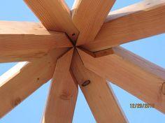 Photo: Genius. Beauty.  #timberframing #home #architecture