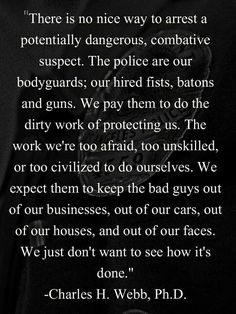 For those in law enforcement and military
