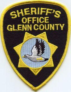 Glenn County California Ca Sheriff Police Patch • $5.99 - PicClick