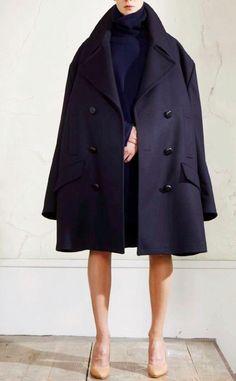 Love this oversized coat.