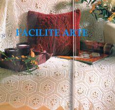 Facilite Sua Arte: Colcha 6 - Módulos em hexágonos