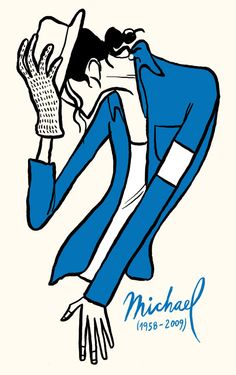 Michael Jackson / musician/ by Francisco Javier Olea