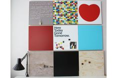 Kotonadesign is a finnish brand that designed the collection of cool boards with frames of plywood. These notice boards are perfect for home décor and will be Board For Kids, Photo Wall, Boards, Display, Messages, Cool Stuff, Frame, Room, Design